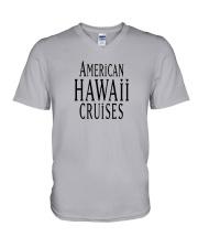 American Hawaii Cruises V-Neck T-Shirt thumbnail