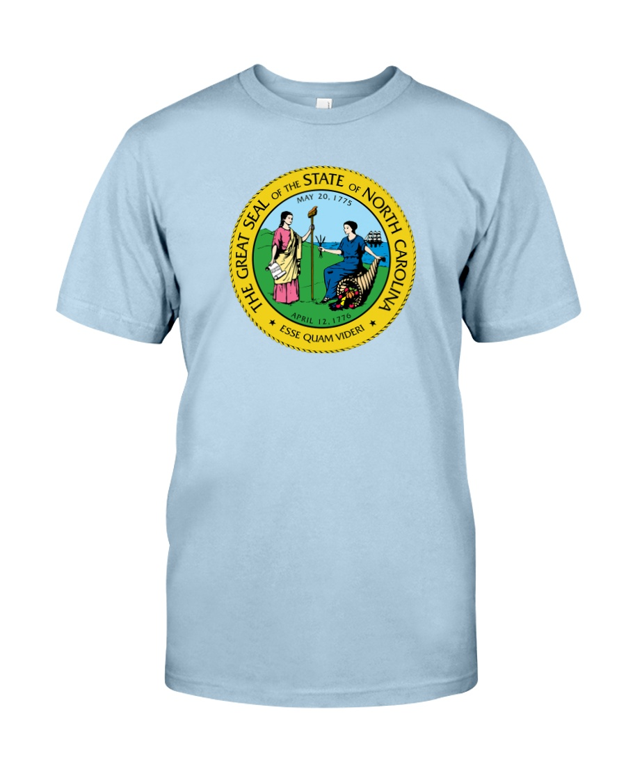 Great Seal of the State of North Carolina Classic T-Shirt