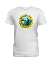 Great Seal of the State of North Carolina Ladies T-Shirt thumbnail