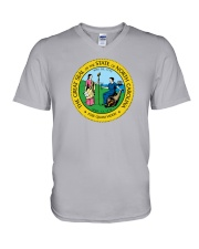 Great Seal of the State of North Carolina V-Neck T-Shirt tile