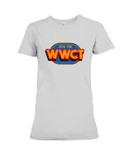 WWCT 106 FM - Peoria Illinois Premium Fit Ladies Tee thumbnail
