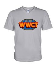WWCT 106 FM - Peoria Illinois V-Neck T-Shirt thumbnail