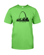 The St Louis Skyline Classic T-Shirt front
