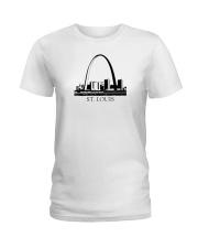 The St Louis Skyline Ladies T-Shirt thumbnail