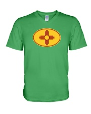 State Flag of New Mexico V-Neck T-Shirt thumbnail
