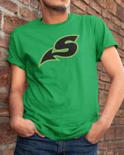 Shreveport Swamp Dragons  Classic T-Shirt apparel-classic-tshirt-lifestyle-26