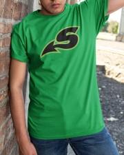 Shreveport Swamp Dragons  Classic T-Shirt apparel-classic-tshirt-lifestyle-27