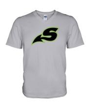 Shreveport Swamp Dragons  V-Neck T-Shirt thumbnail