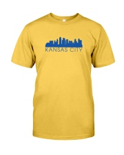 Kansas City Skyline Classic T-Shirt front