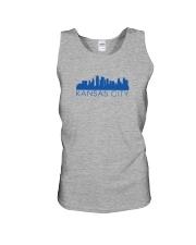Kansas City Skyline Unisex Tank thumbnail