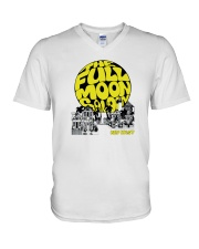 The Full Moon Saloon - Key West Florida V-Neck T-Shirt thumbnail