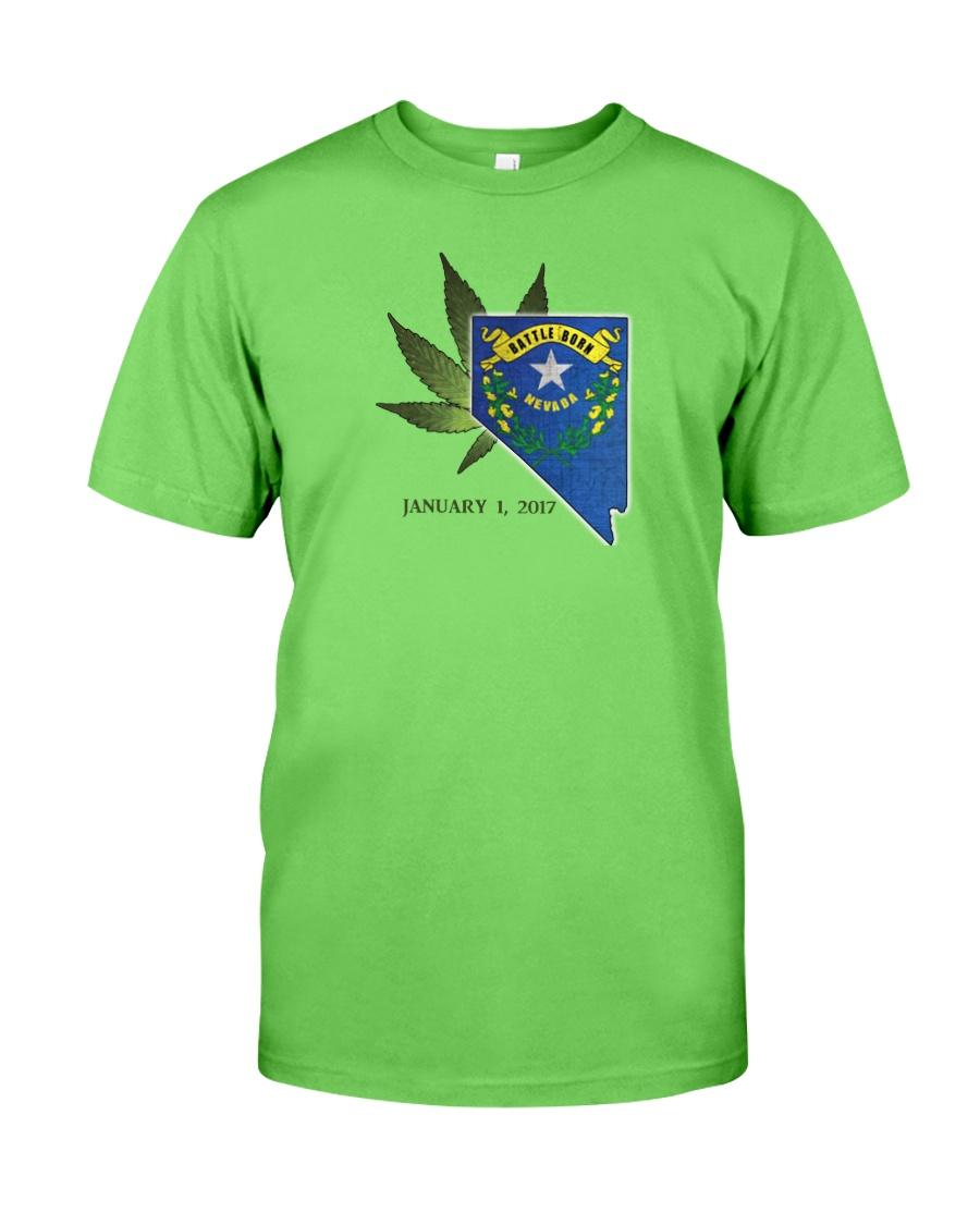 Nevada - Marijuana Freedom Classic T-Shirt