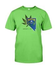 Nevada - Marijuana Freedom Classic T-Shirt front