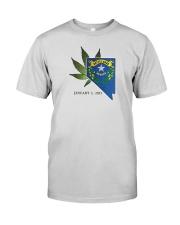 Nevada - Marijuana Freedom Premium Fit Mens Tee thumbnail