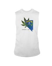 Nevada - Marijuana Freedom Sleeveless Tee thumbnail