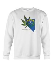 Nevada - Marijuana Freedom Crewneck Sweatshirt thumbnail