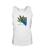 Nevada - Marijuana Freedom Unisex Tank thumbnail