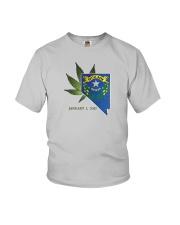 Nevada - Marijuana Freedom Youth T-Shirt thumbnail