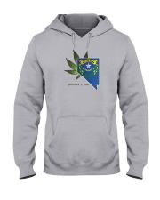 Nevada - Marijuana Freedom Hooded Sweatshirt thumbnail