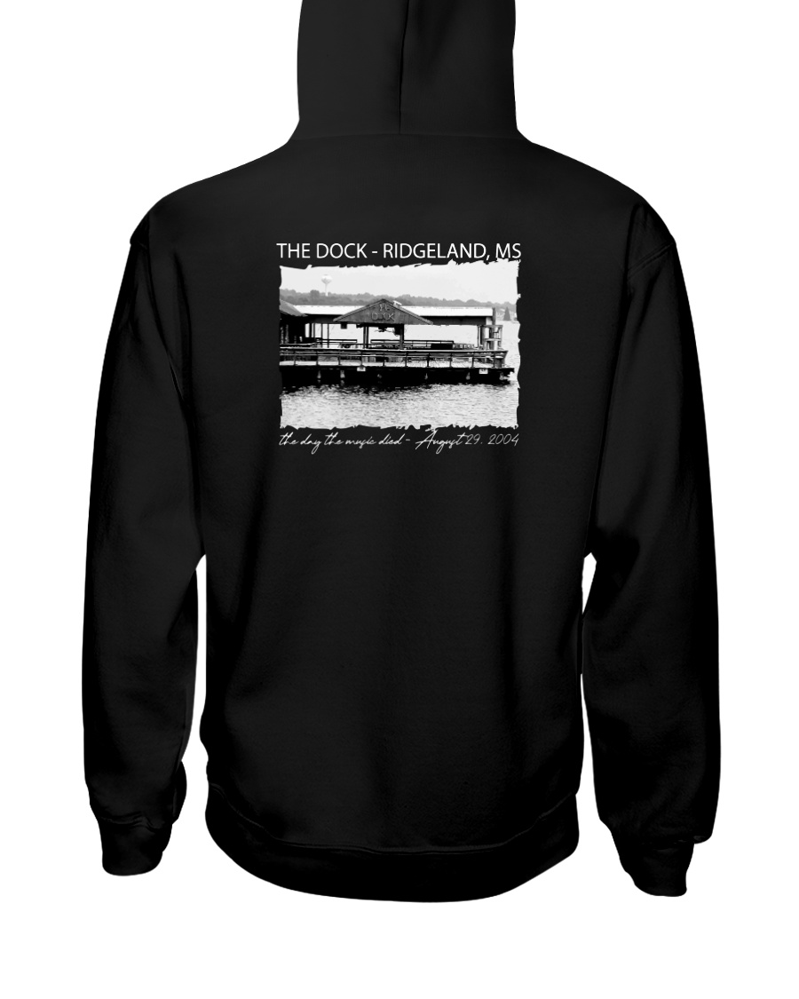 The Dock - Ridgeland Mississippi Hooded Sweatshirt