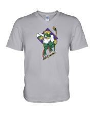 Anaheim Bullfrogs V-Neck T-Shirt thumbnail