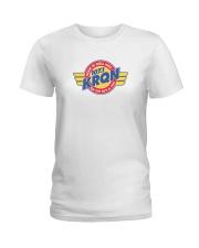 KRQN - Cedar Rapids Iowa Ladies T-Shirt thumbnail