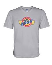 KRQN - Cedar Rapids Iowa V-Neck T-Shirt thumbnail