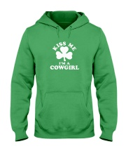 Kiss Me I'm a Cowgirl Hooded Sweatshirt thumbnail