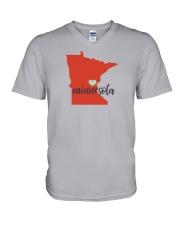 Minnesota V-Neck T-Shirt thumbnail