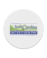 2003 South Carolina International Auto Show Circle Coaster thumbnail