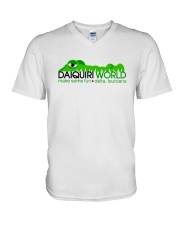Daiquiri World - Delta Louisiana V-Neck T-Shirt thumbnail