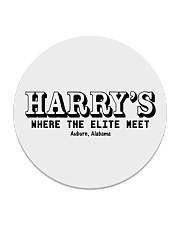 Harry's Lounge - Auburn Alabama Circle Coaster thumbnail