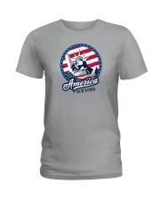 America - New York Ladies T-Shirt thumbnail