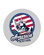 America - New York Circle Coaster thumbnail