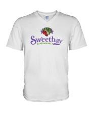 Sweetbay Supermarket V-Neck T-Shirt thumbnail