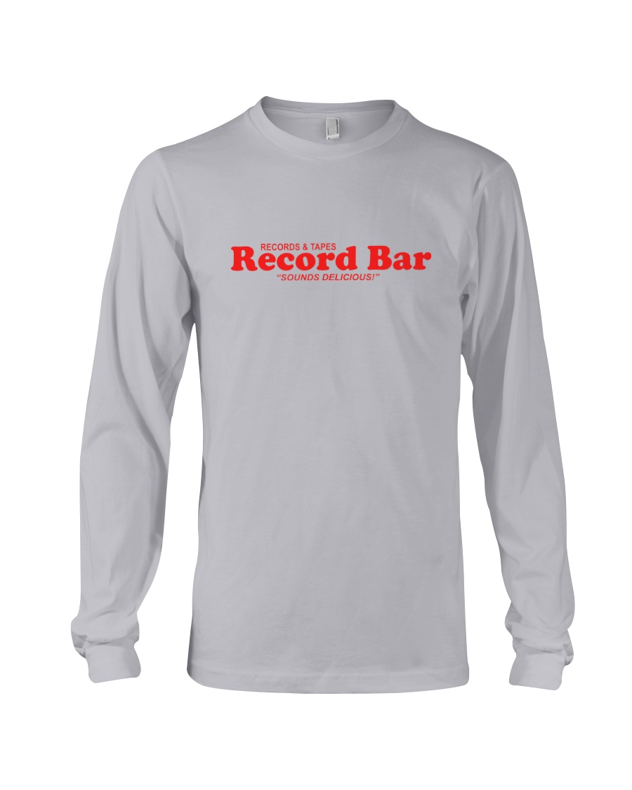 Record Bar Long Sleeve Tee
