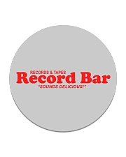 Record Bar Circle Coaster thumbnail