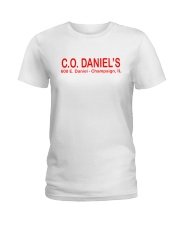 CO Daniel's - Champaign Illinois Ladies T-Shirt thumbnail