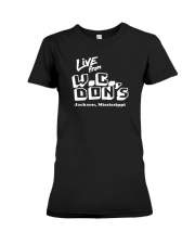 Live from W C Don's - Jackson Mississippi Premium Fit Ladies Tee thumbnail
