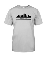 The Boston Skyline Classic T-Shirt front