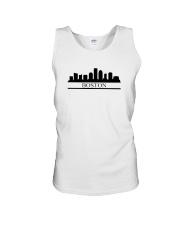 The Boston Skyline Unisex Tank thumbnail