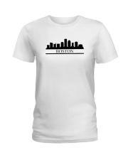 The Boston Skyline Ladies T-Shirt thumbnail