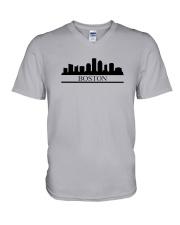The Boston Skyline V-Neck T-Shirt thumbnail