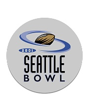 Seattle Bowl - Seattle Washington Circle Coaster tile