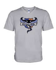 Bay Area CyberRays V-Neck T-Shirt thumbnail