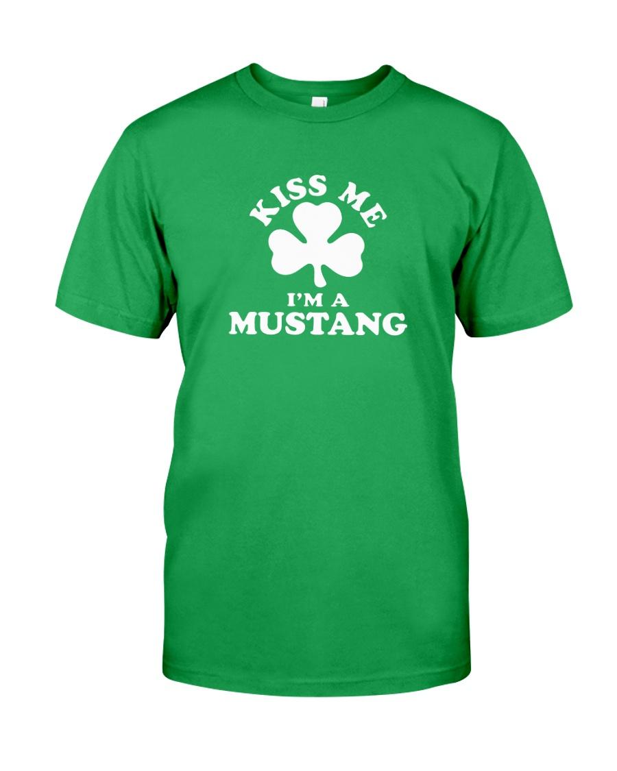 Kiss Me I'm a Mustang Classic T-Shirt