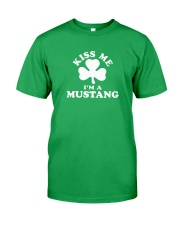 Kiss Me I'm a Mustang Classic T-Shirt front