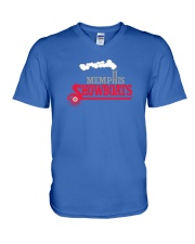 Memphis Showboats V-Neck T-Shirt thumbnail