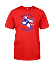 Dallas Texans Classic T-Shirt front