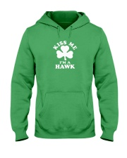 Kiss Me I'm a Hawk Hooded Sweatshirt thumbnail